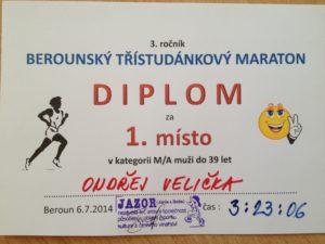 Diplom-berounsky-tristudankovy-maraton