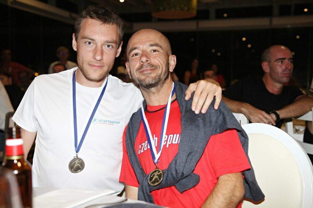 Společná finišerská fotka s Radkem.
