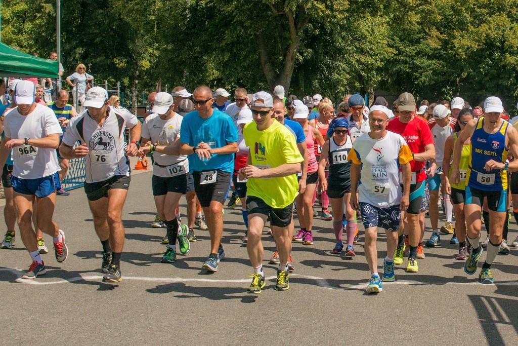 Start závodu (zdroj Facebook)