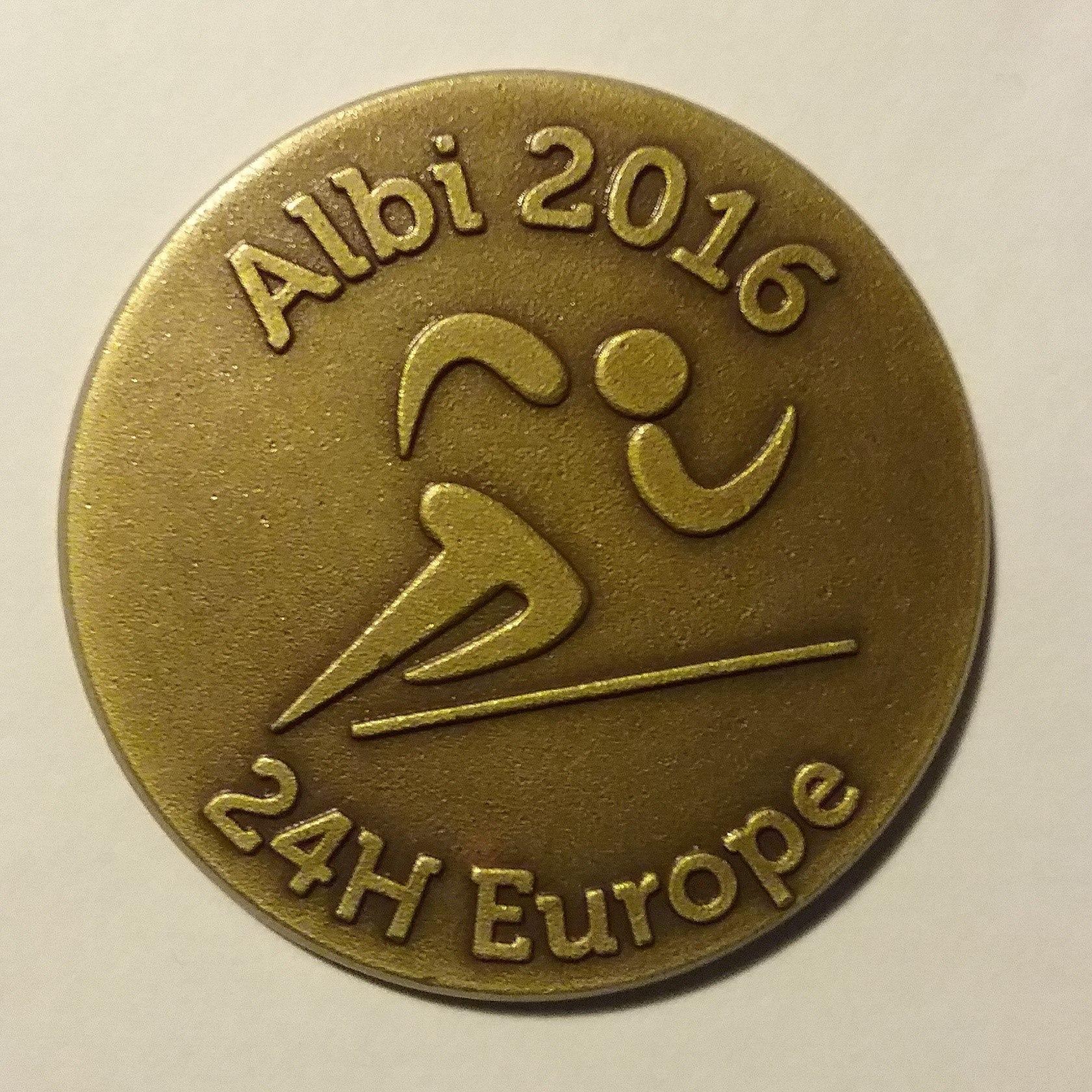 Účastnická medaile ze závodu. (zdroj Facebook)