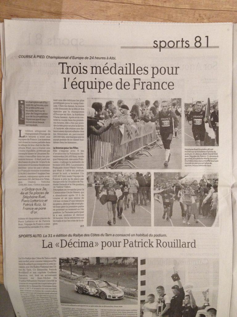 Moje jméno se objevilo dokonce i ve francouzských novinách. Sice zkomolené, ale to mi ani tolik nevadilo.