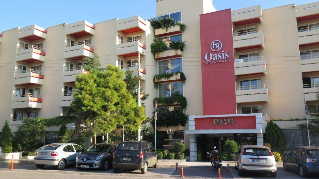 Náš hotel Oasis.