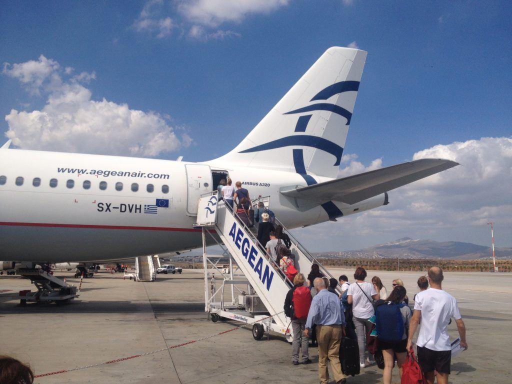 Loučíme se s Řeckem a odlétáme zpátky do ČR.