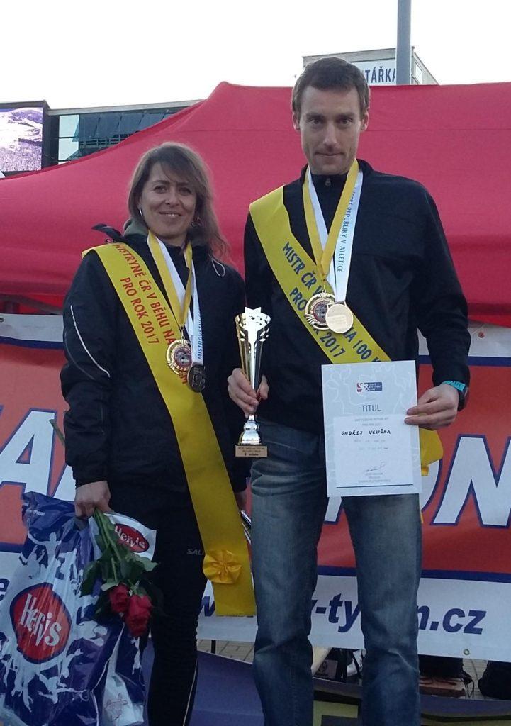 Společná fotka s mistryní Lenkou Horákovou.