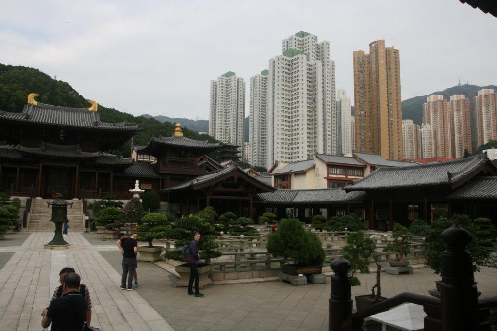 Chi Lin Nunnery v Hongkongu.