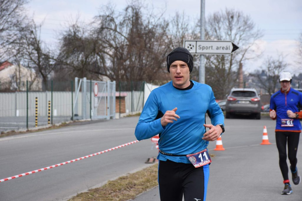 Fotka z průběhu závodu.