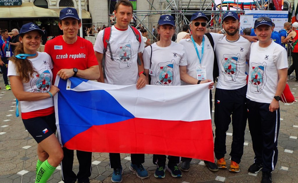 Czech spartathlon team.