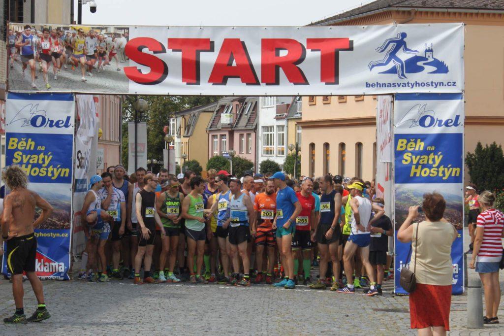 Start závodu.