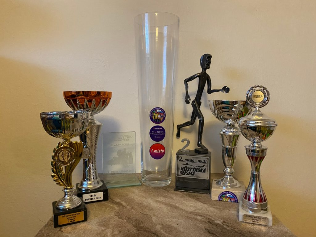 Trofeje a poháry získané v roce 2019.