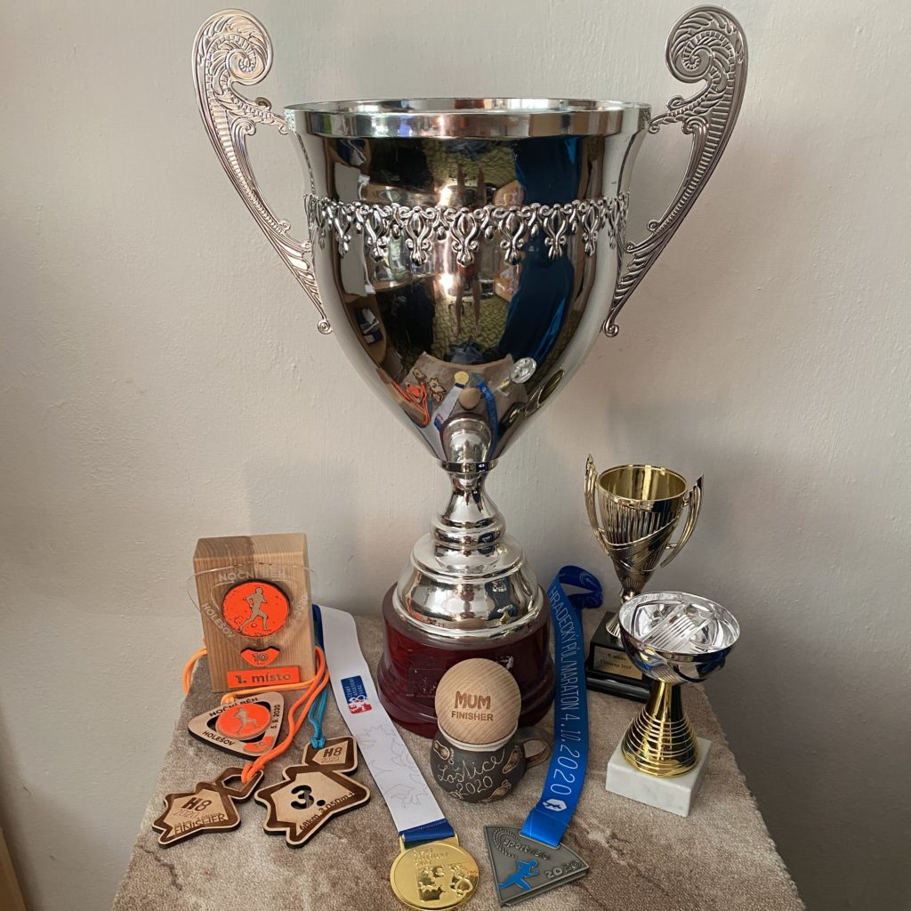 Trofeje získané v roce 2020